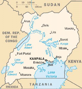 ELimu Physical Environment - Kenya rivers map