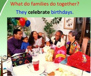 celebrate the family essay