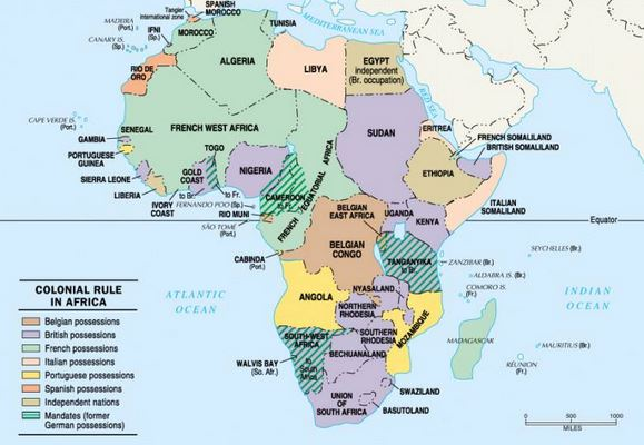 african countries colonized by italy