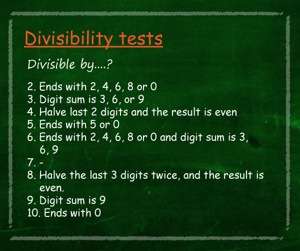 Elimu numbers watch divisibility rules video freerunsca Image collections