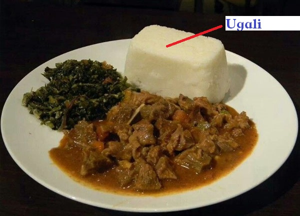 Ugali And Sukuma Wiki