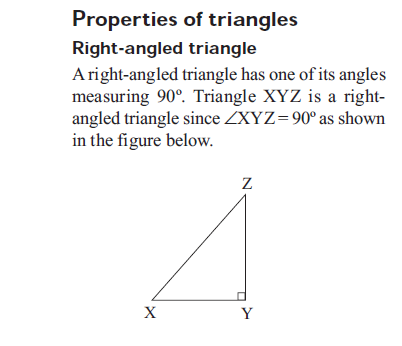 Elimu geometry for Exterior angle property of a triangle proof